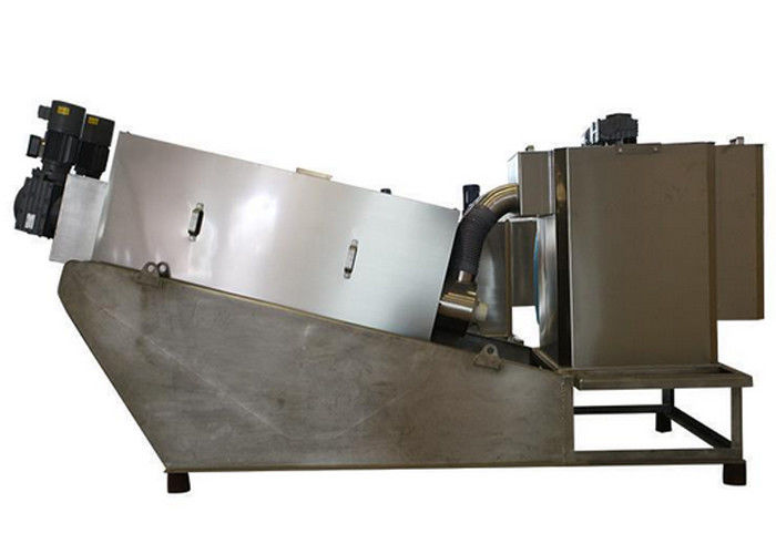 Screw Press Dewater Machine Plate And Frame Filter Press For Municipal Waste Water Slurry Dewatering