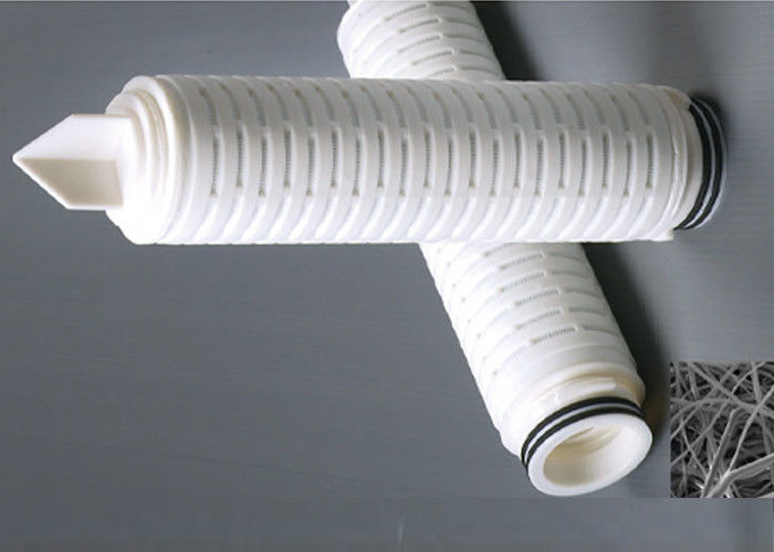 Melt blown Polybutylene membrane filter cartridge absolute filtration for oxidize water OD 68mm