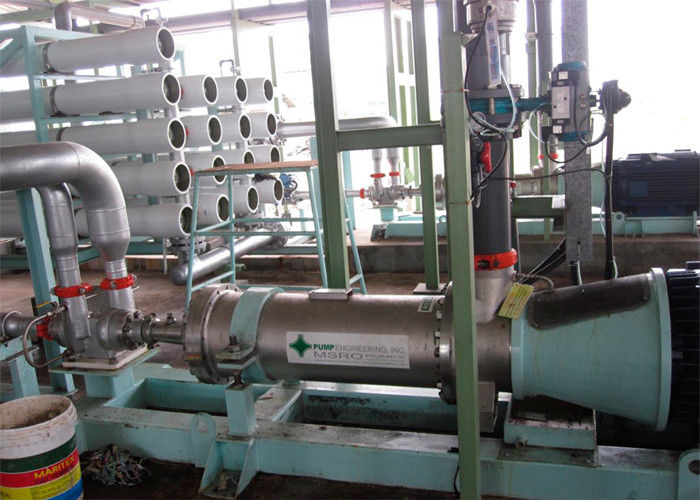 Energy recovery Seawater desalination equipment  1400 m3/day Reverse Osmosis System